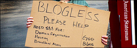 blogless